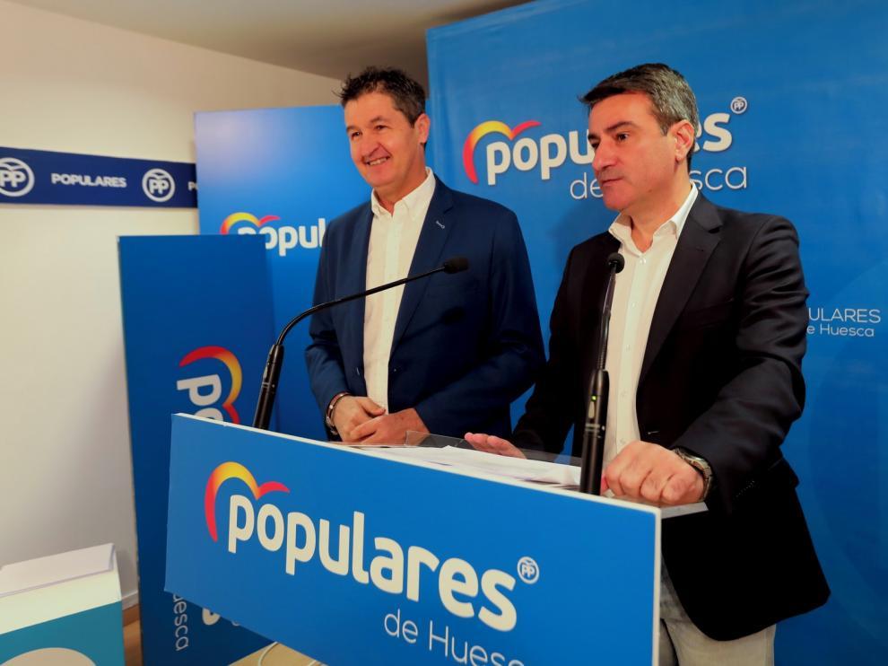 El PP de Huesca plantea enmiendas por 20 millones