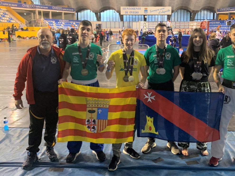 Diez medallas altoaragonesas en el Ciudad de Oviedo