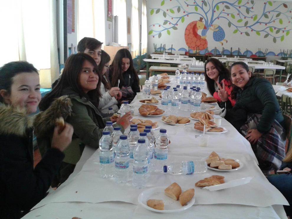 Mil estudiantes de la Hoya de Huesca aprenden hábitos saludables con el programa 'Saboreando'