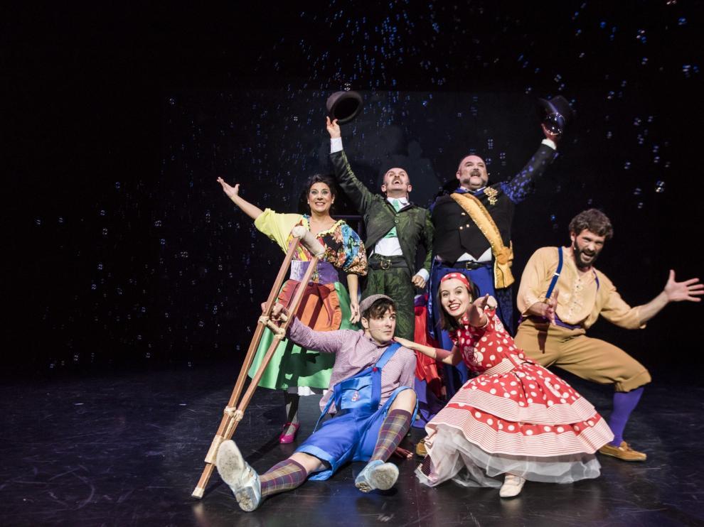 El musical de 'El flautista del Hamelin' sube a escena en las navidades de Monzón