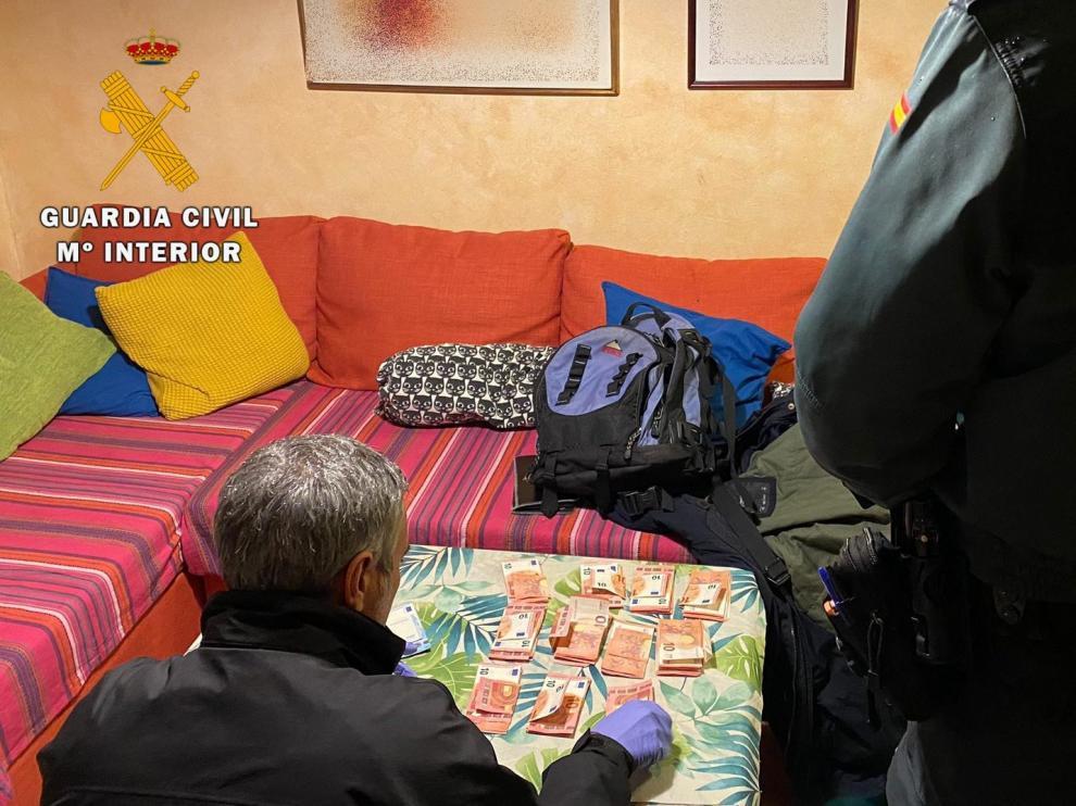 La Guardia Civil detiene al supuesto autor de un robo con violencia e intimidación en Barbastro