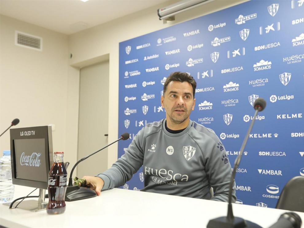 Míchel destaca que la Copa brinda al Huesca una oportunidad para reivindicarse