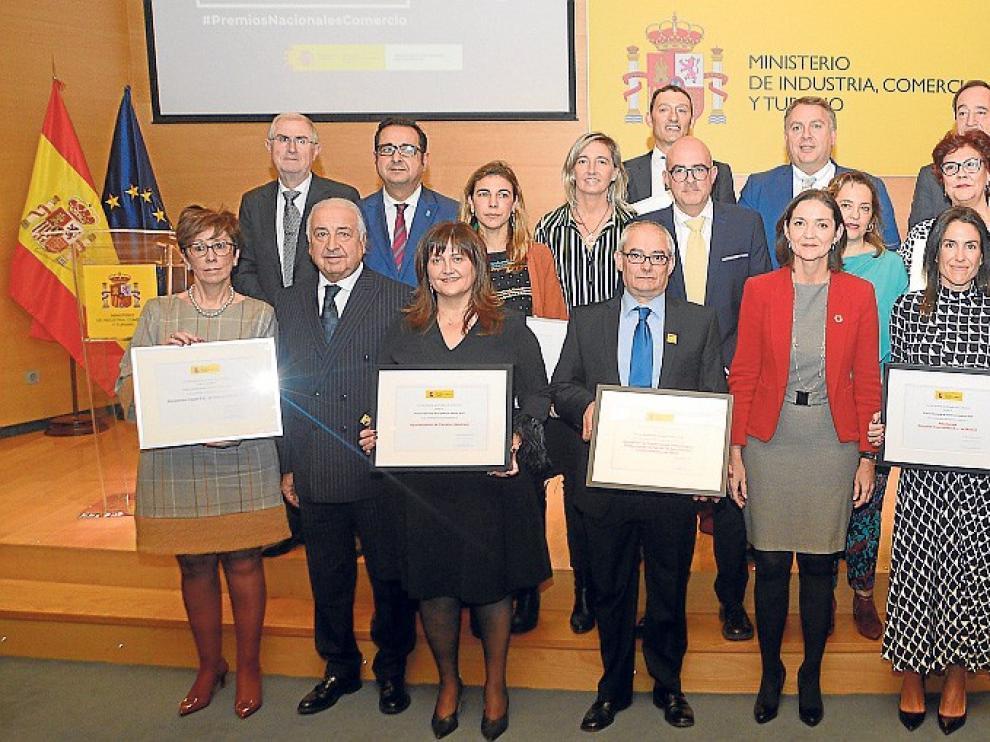 La Asociación de Comerciantes de Huesca recibe un Premio Nacional 2019