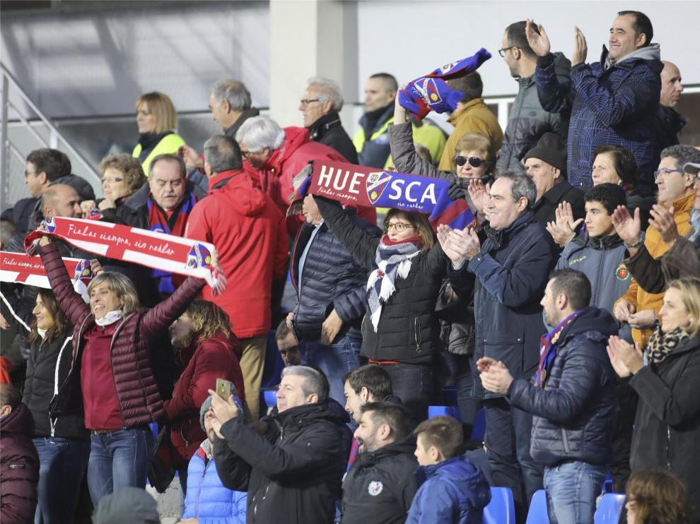El Huesca organiza una quedada con la afición para recibir al equipo el domingo en El Alcoraz