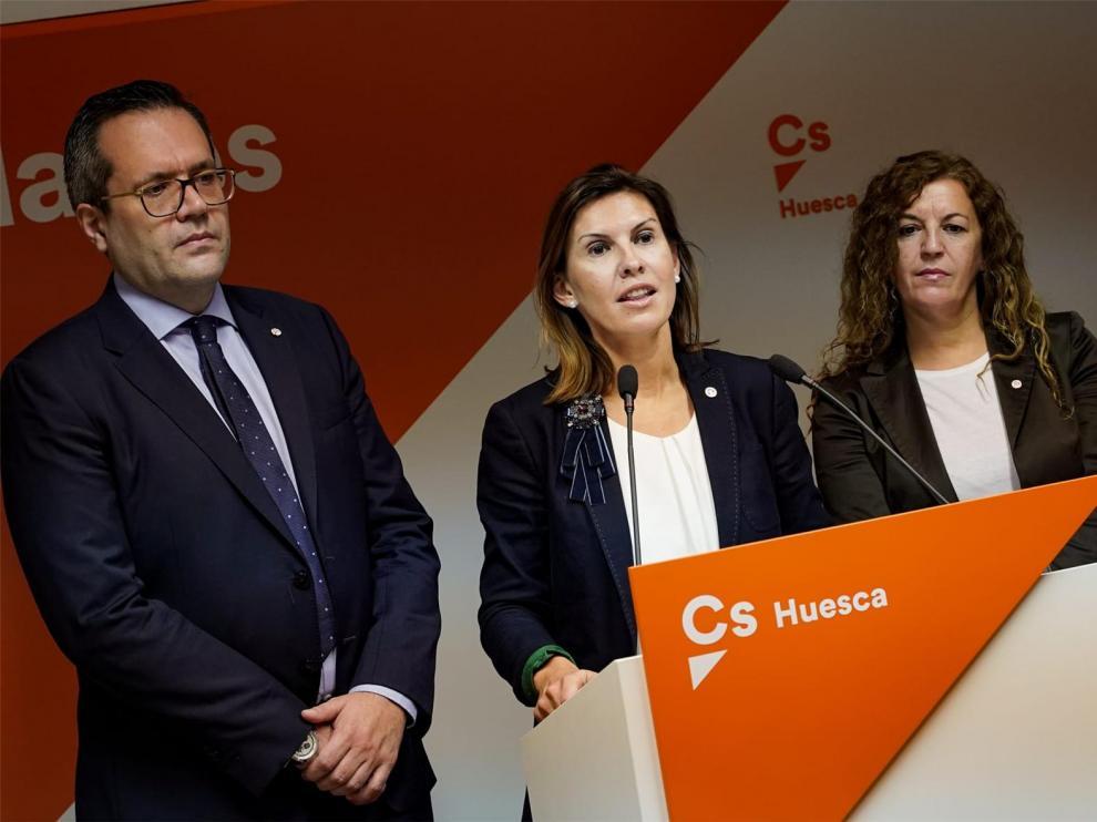 Ciudadanos acusa al Gobierno aragonés de aplicar un rodillo contra sus enmiendas