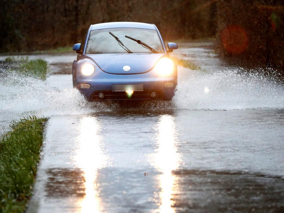 """""""Elsa"""" alcanza la cuenca del Ebro dejando precipitaciones de intensidad moderada o fuerte"""