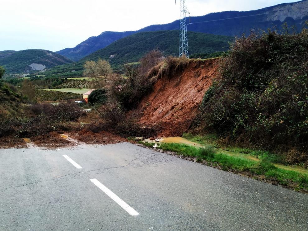 Se restablece la normalidad en las carreteras de las comarcas de Jacetania y Alto Gállego