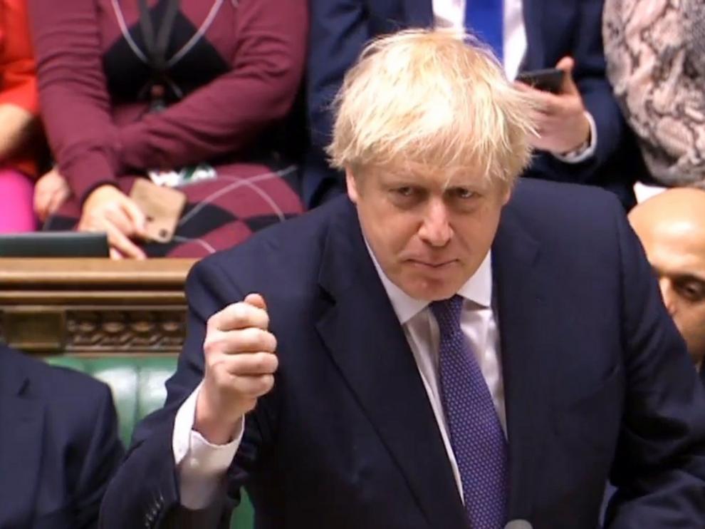 """Johnson pide unidad al Parlamento al abrir el debate del acuerdo del """"brexit"""""""