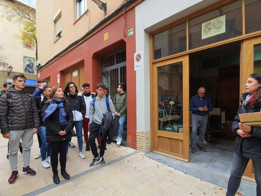 Tour por el comercio tradicional del casco antiguo de Huesca