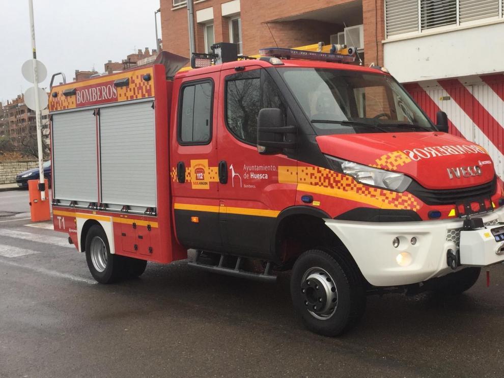 Llega el camión de bomberos del que dependen 130.000 euros