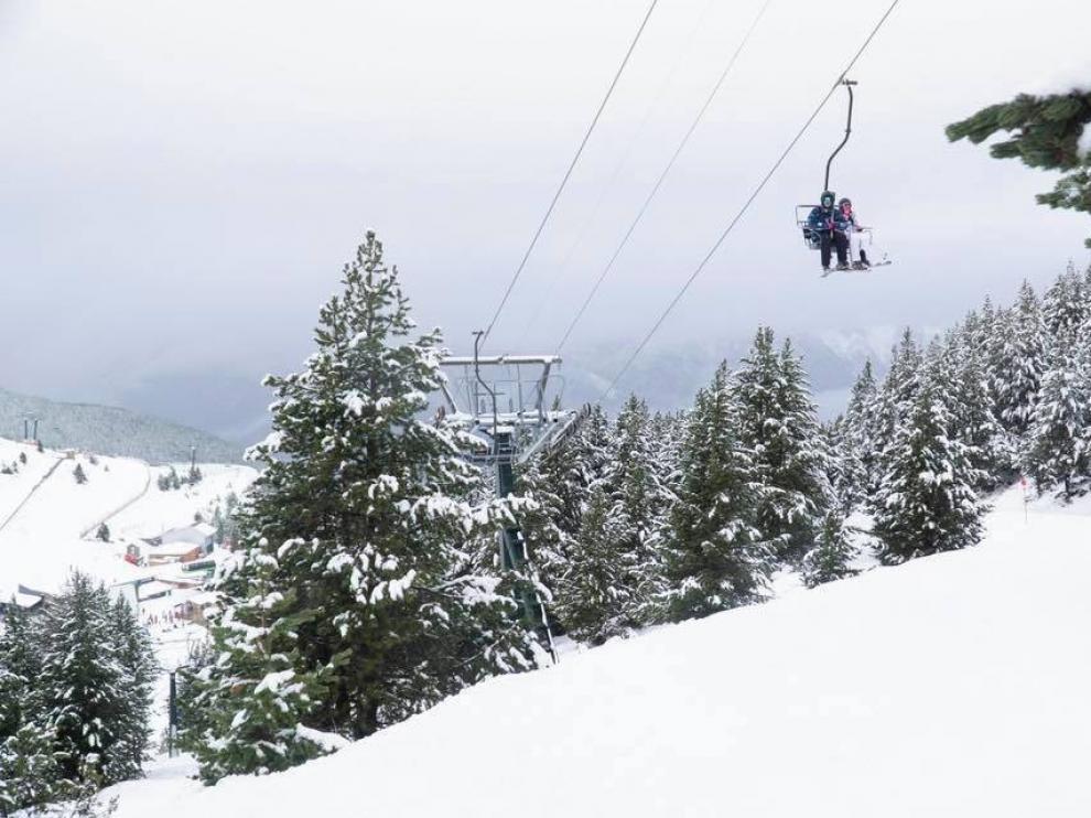 El Pirineo prevé una afluencia turística alta tras la Nochebuena