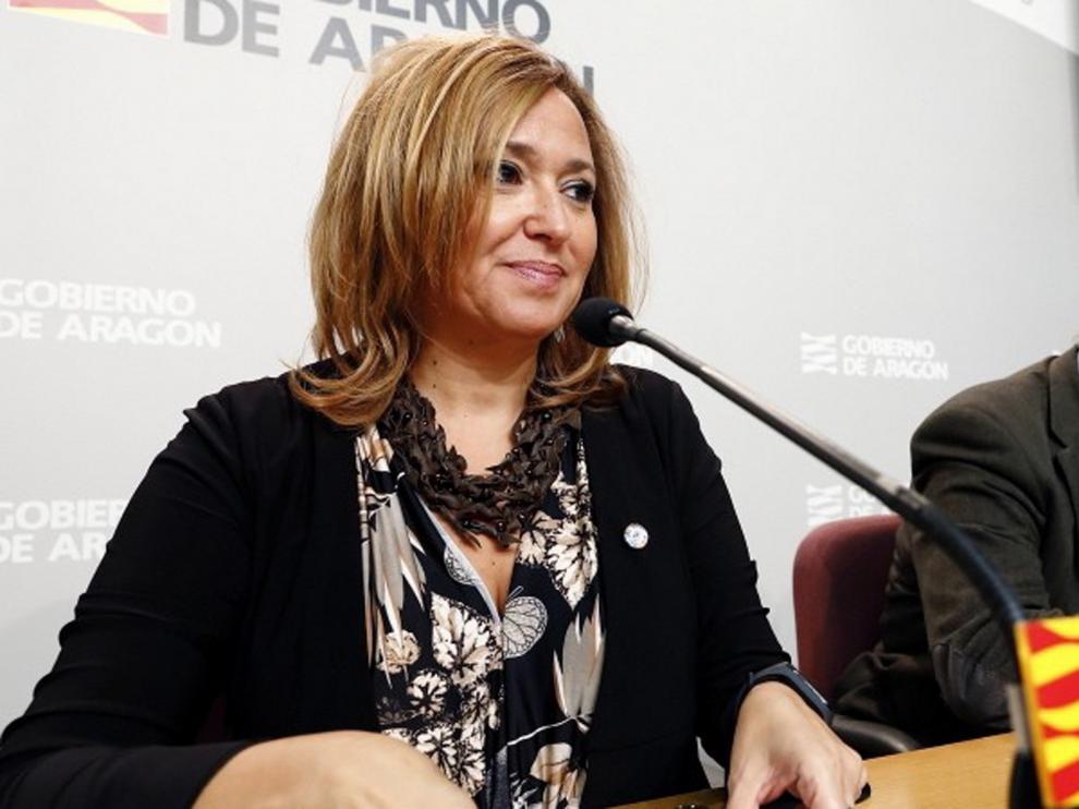 """Mayte Pérez: """"La DGA está sin ningún tipo de duda a lo que diga el Constitucional"""""""