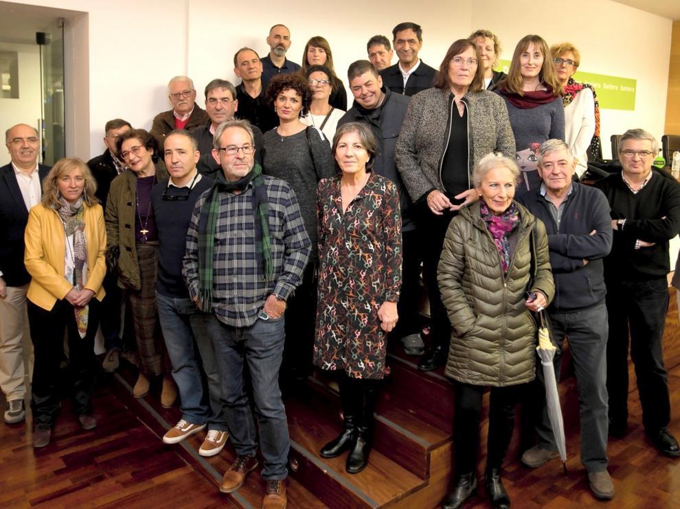 Arte comprometido en Huesca en la causa contra el alzhéimer