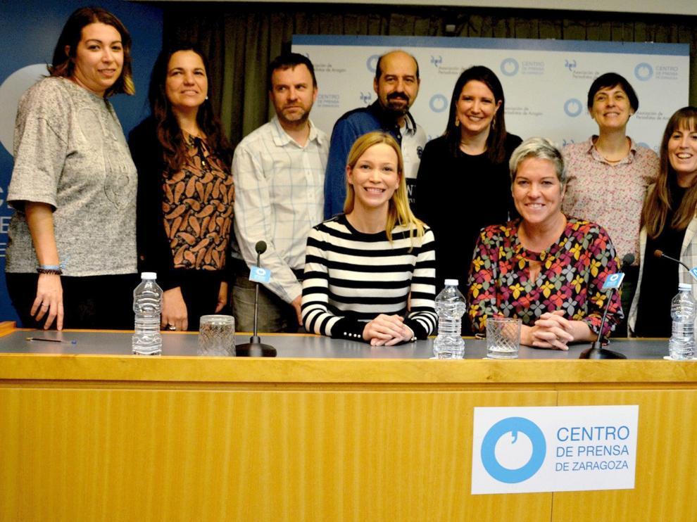 Una junta de integración dirige a los periodistas de Aragón
