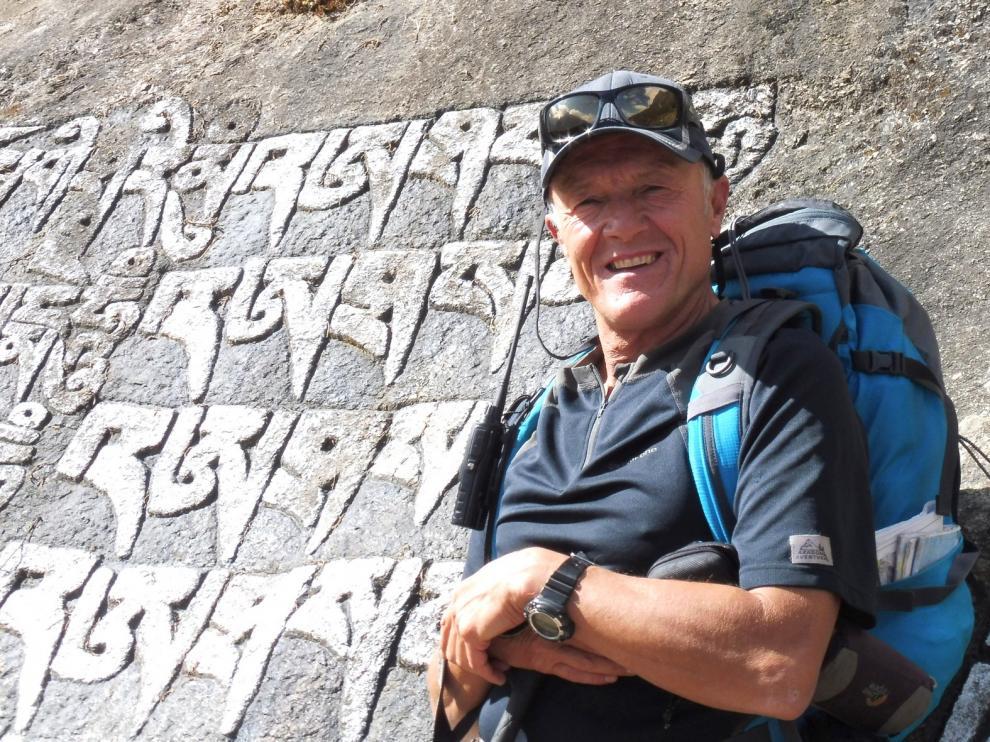 """Fernando Garrido: """"Me gusta mucho la montaña y viajar cuanto más lejos, mejor"""""""