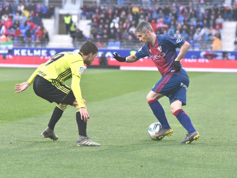 El Huesca se lleva el Gordo del derbi