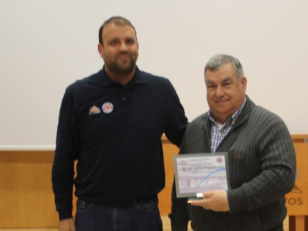 Reconocimiento a José Andrés Casaña por su labor en Protección Civil