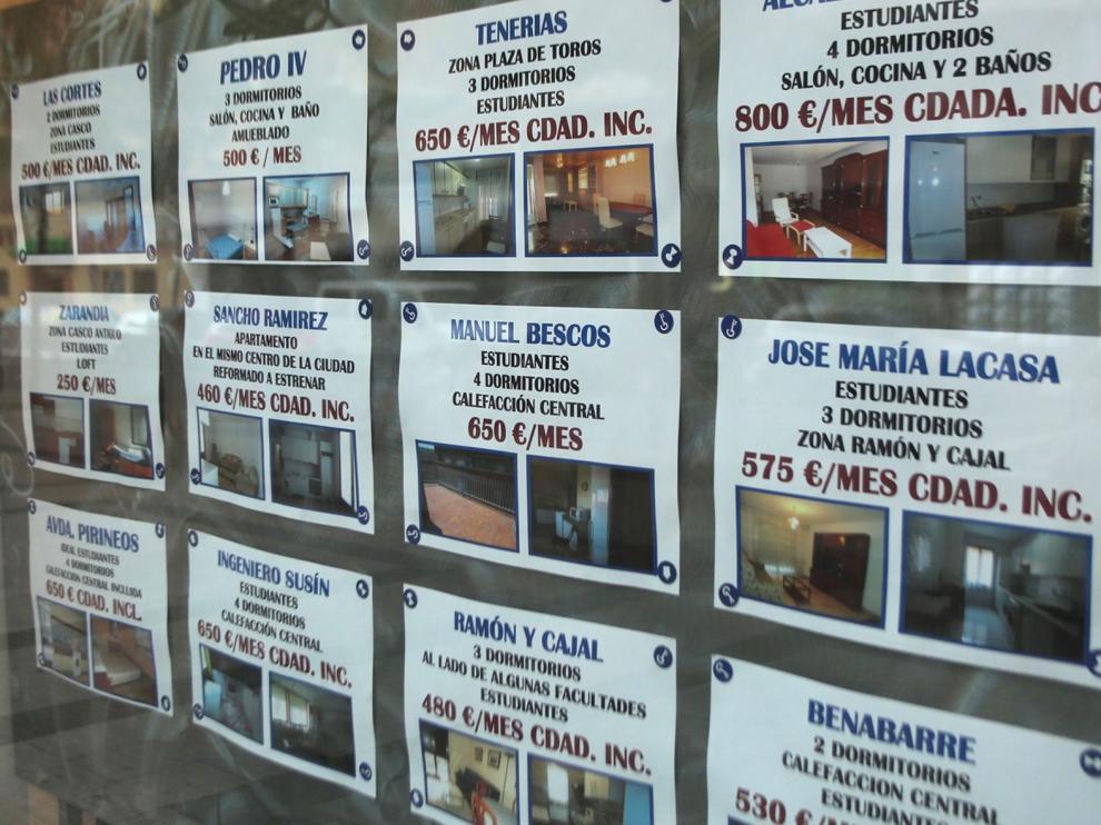 La provincia de Huesca experimenta el incremento más acusado del precio del alquiler de vivienda