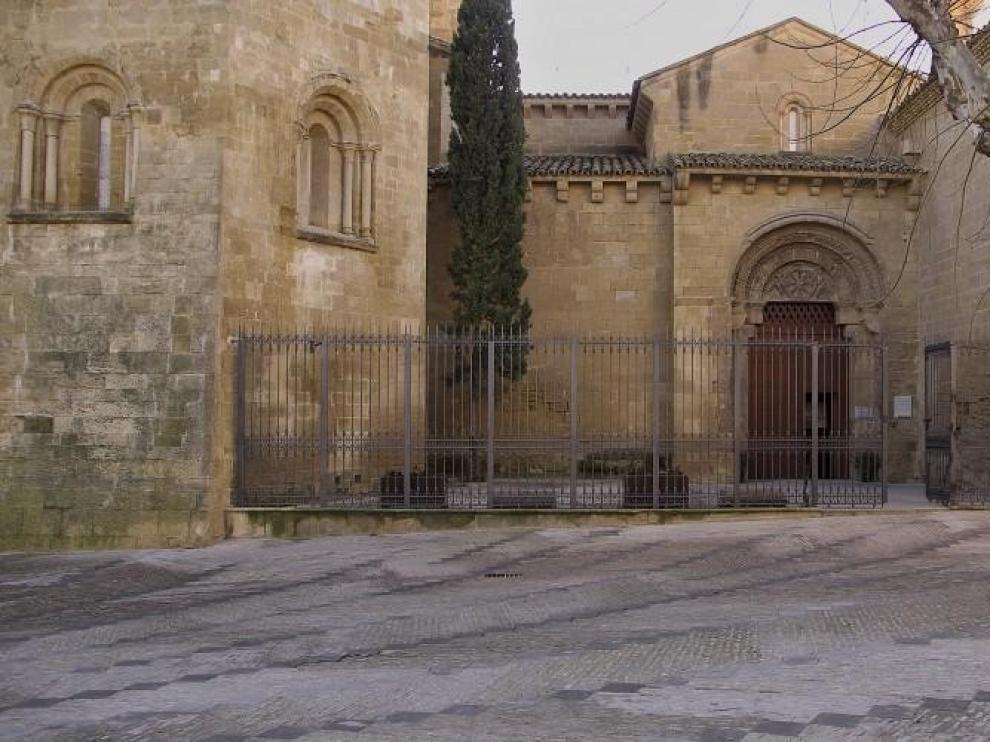 Día de puertas abiertas en San Pedro el Viejo de Huesca