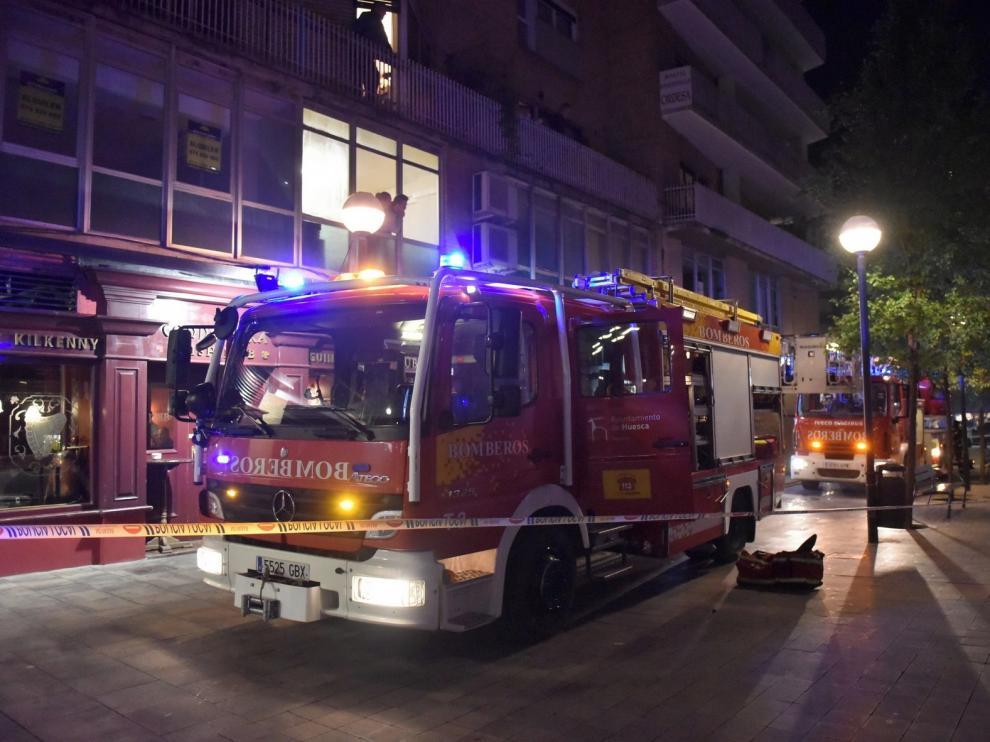 Más de 350.000 euros para el nuevo Centro de Coordinación de bomberos de Huesca