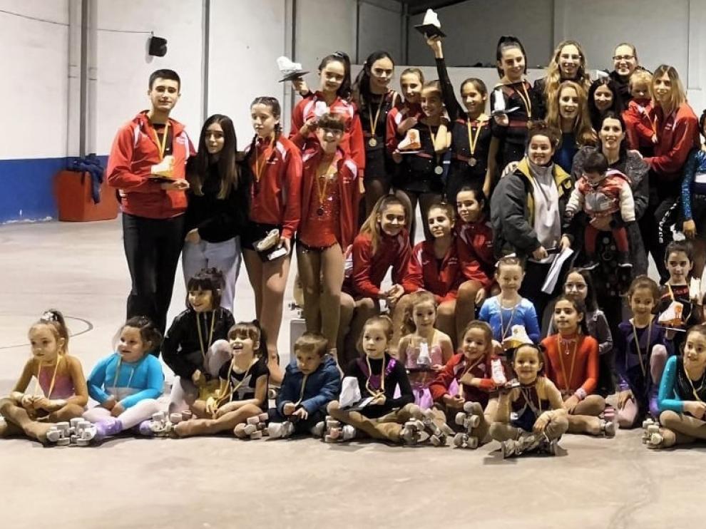 El Club Patín Huesca cierra el año con su Torneo Social