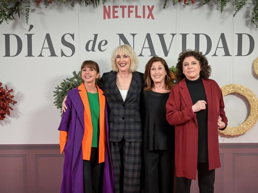 """Cuatro hermanas y un secreto como argumento para """"Días de Navidad"""""""