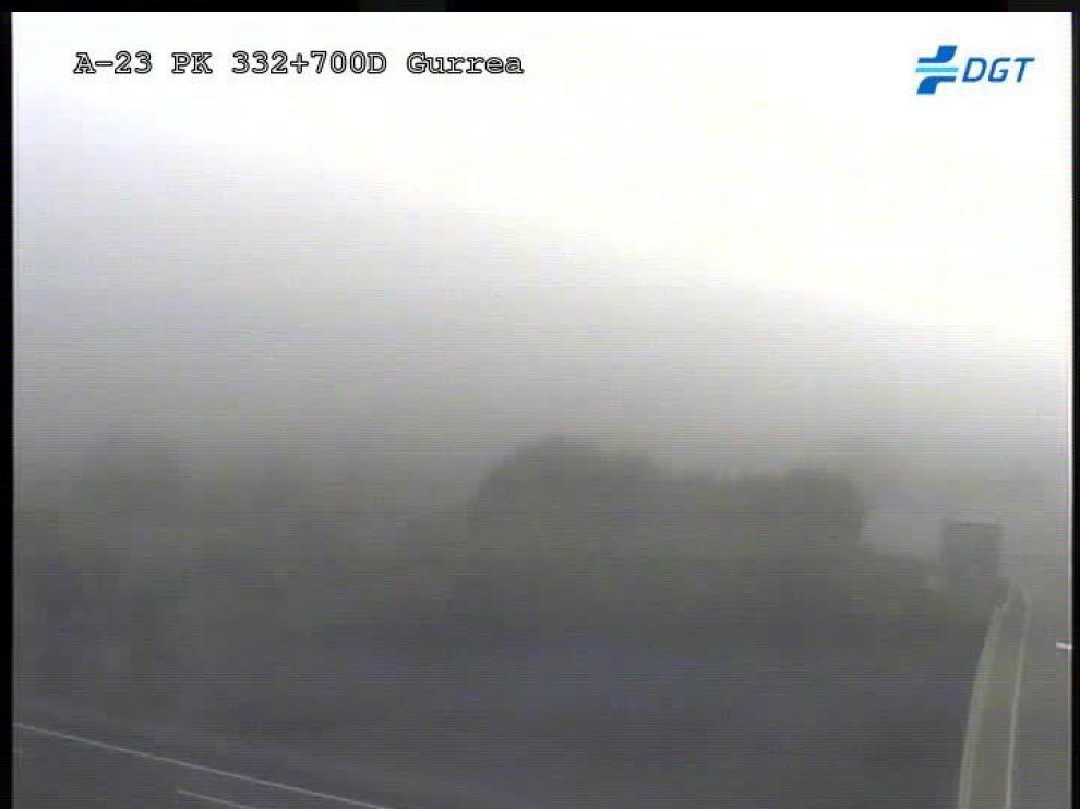 La niebla dificulta la circulación en varias carreteras de la provincia