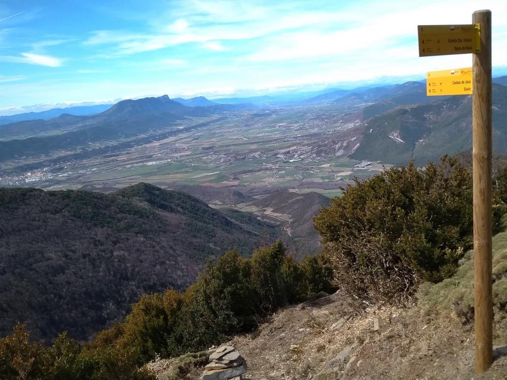 Huesca incorpora cinco nuevos senderos a la red autonómica