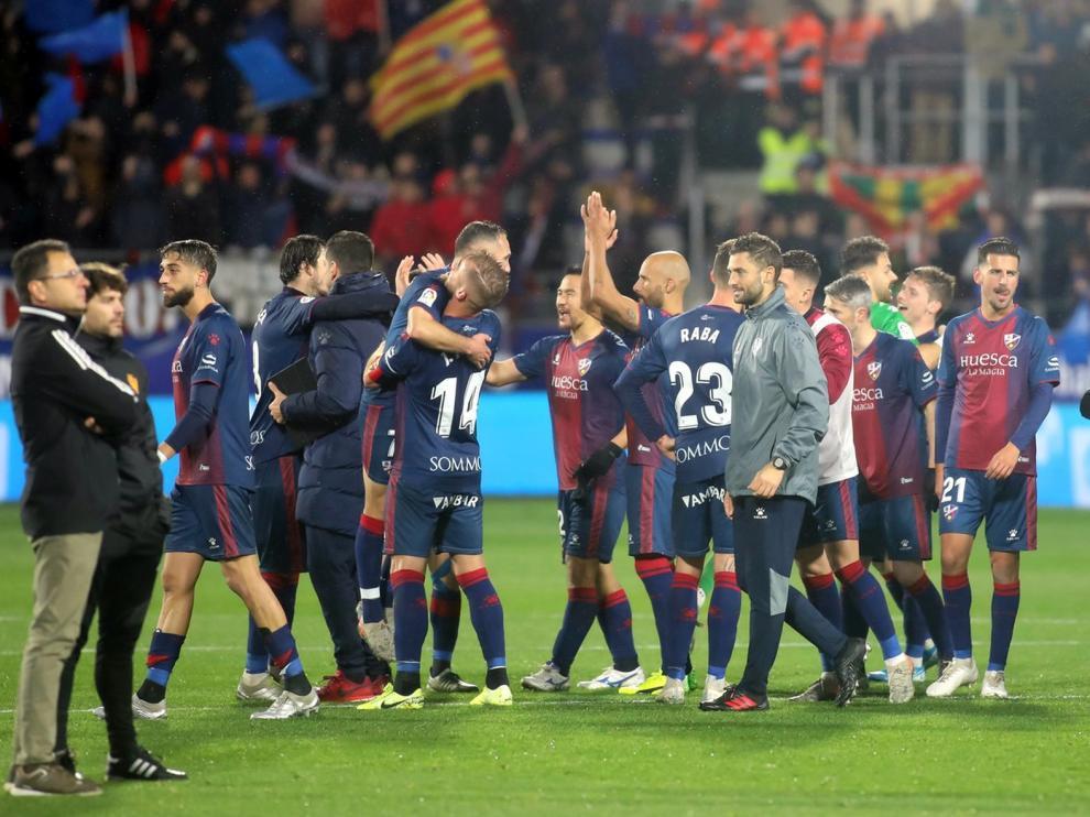 El Huesca, los baluartes de las esperanzas