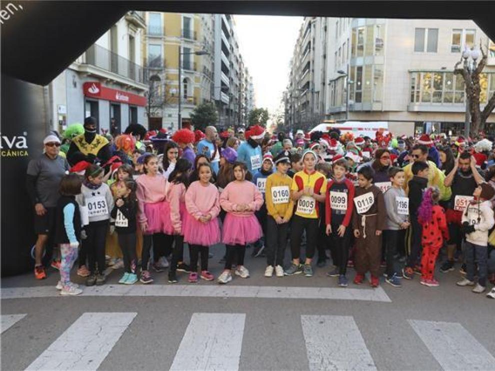 La San Silvestre de Huesca cumple una década