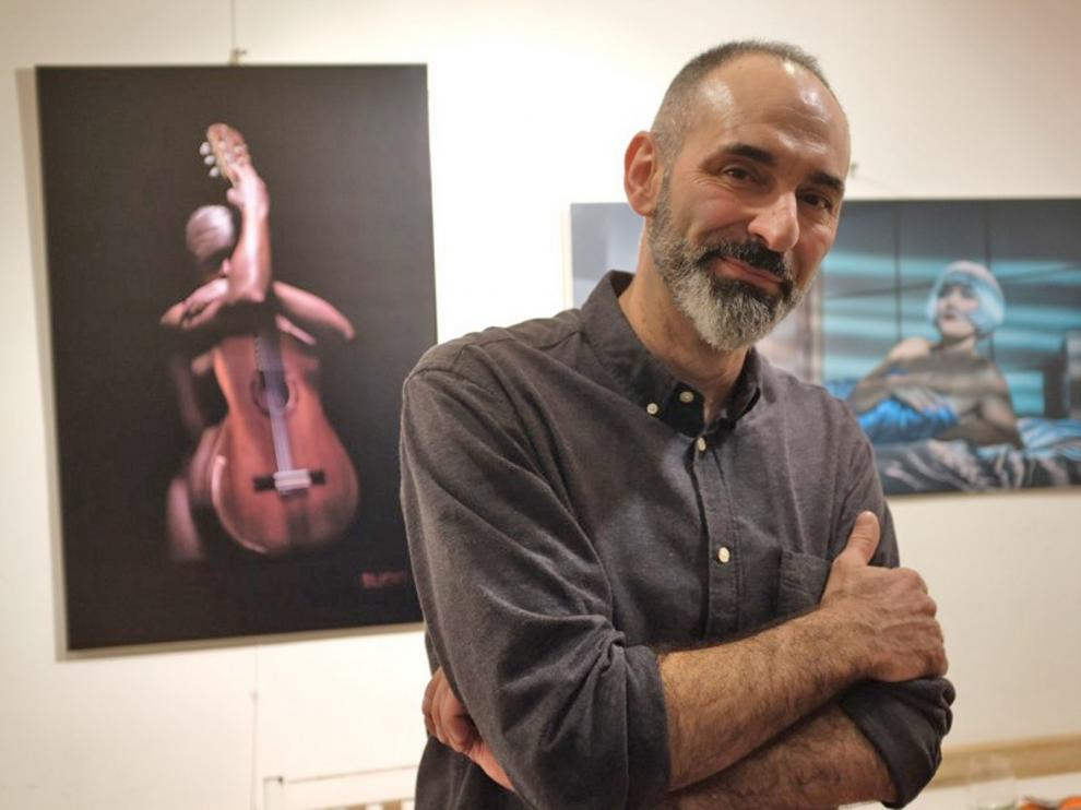 """Raúl Sunn: """"Mi inventario de imágenes toca diferentes conceptos"""""""
