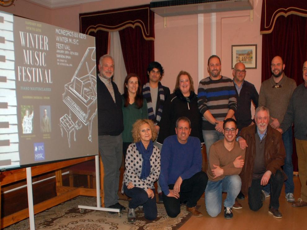 Pianistas de varios países se dan cita en enero en Sariñena