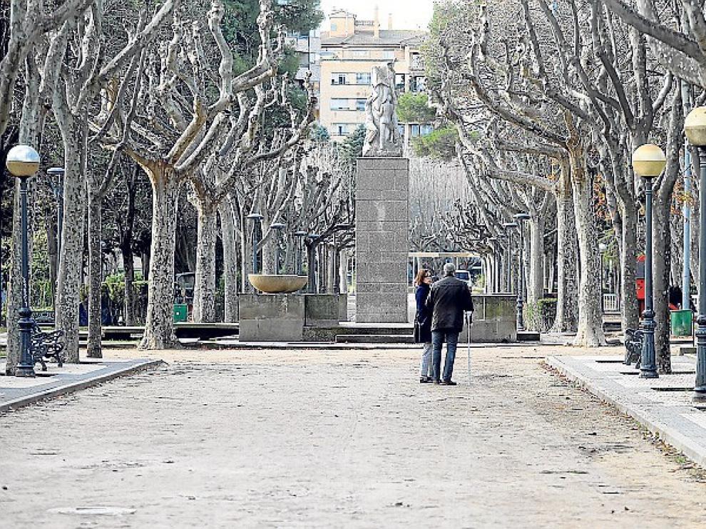 Licitan una nueva fase de los viales del parque Miguel Servet de Huesca