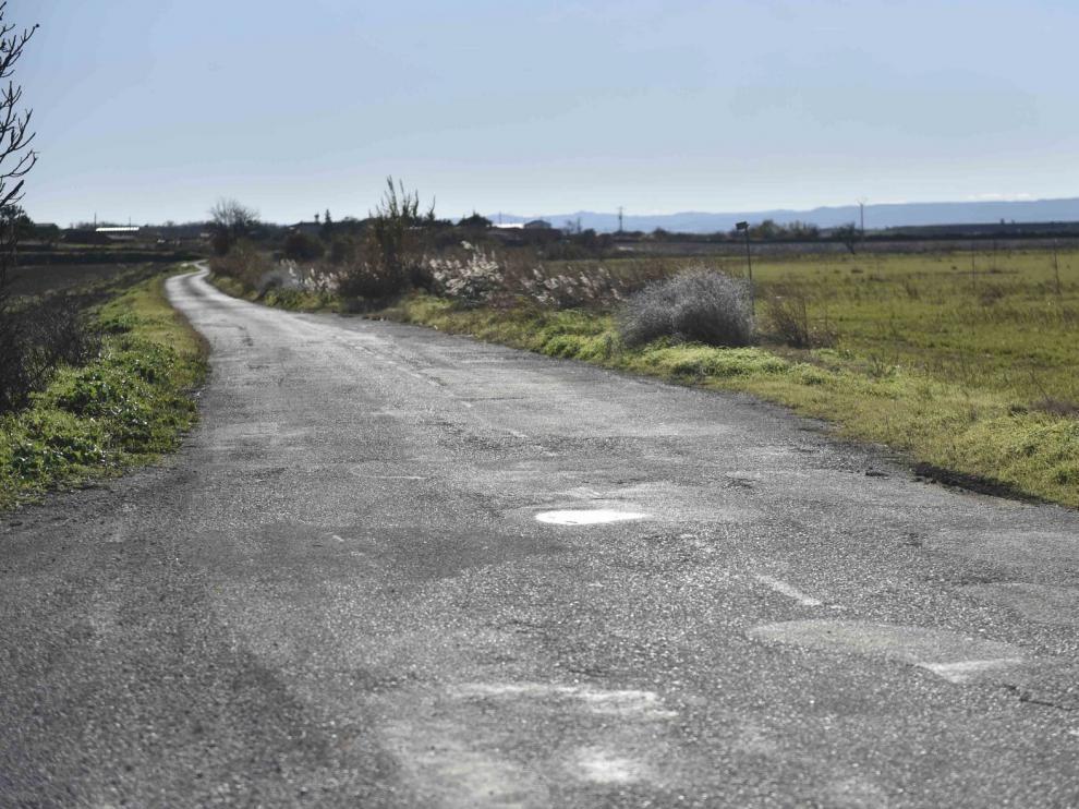 """Vecinos de Tabernas de Isuela denuncian el """"peligro"""" que supone la ampliación de la carretera a Buñales"""