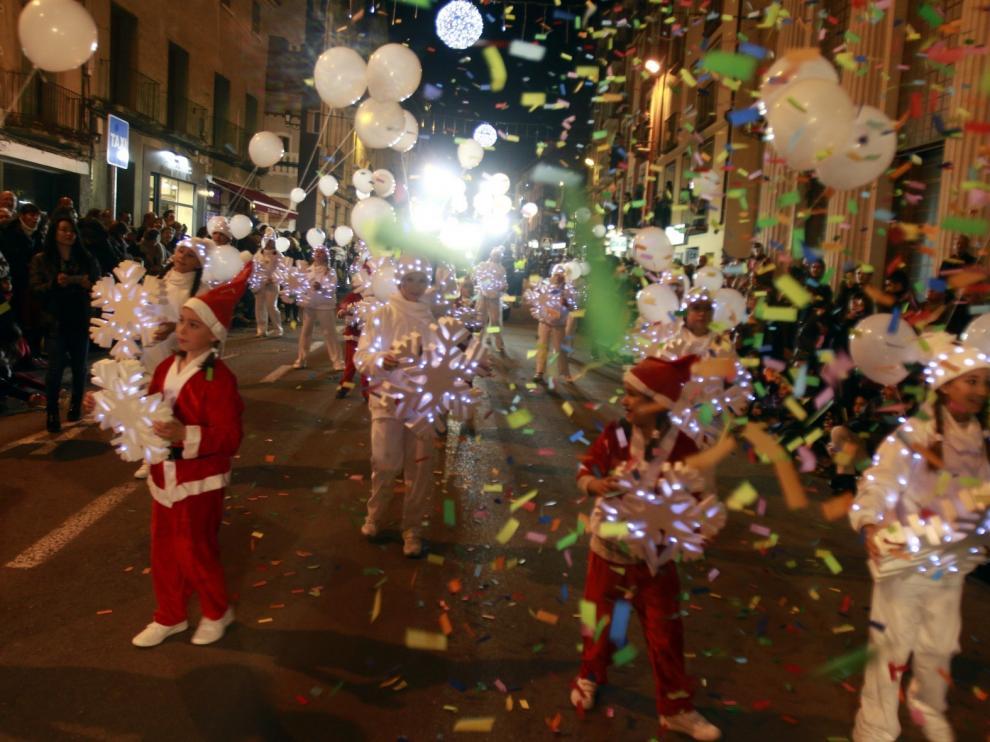 La Cabalgata de Reyes de Huesca apuesta por los cuentos y la imaginación