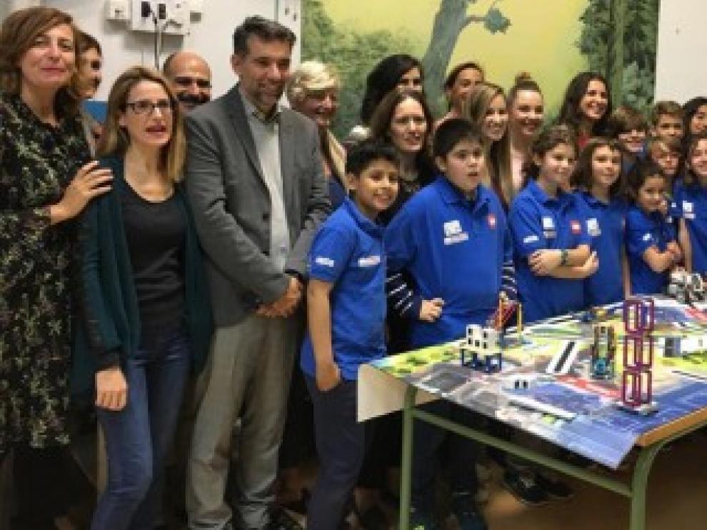 Más de 30 equipos de escolares participarán en el torneo de Aragón de la First Lego League