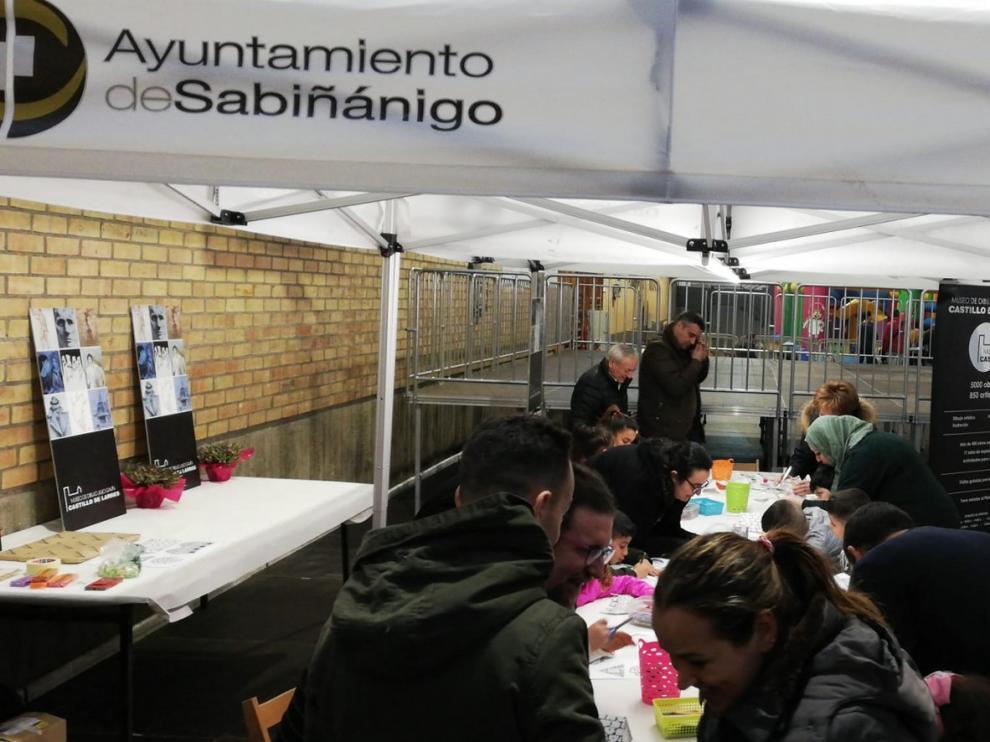 El museo Ángel Orensanz y Artes de Serrablo se cuela en la feria Diversabi