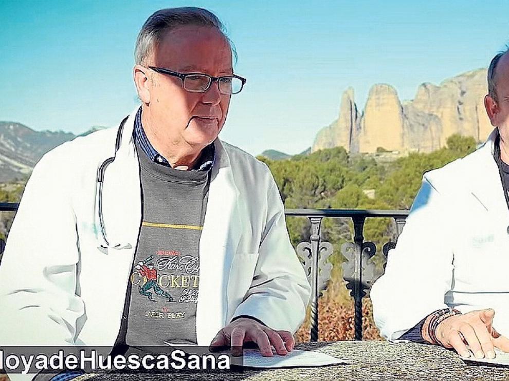 """Ramón Quintas, médico de Riglos: """"La asistencia ha cambiado para bien y cuando me jubile seguiré aquí"""""""