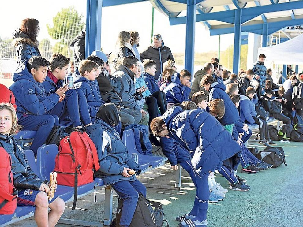 El Huesca se mete entre los grandes en la Aragón Cup