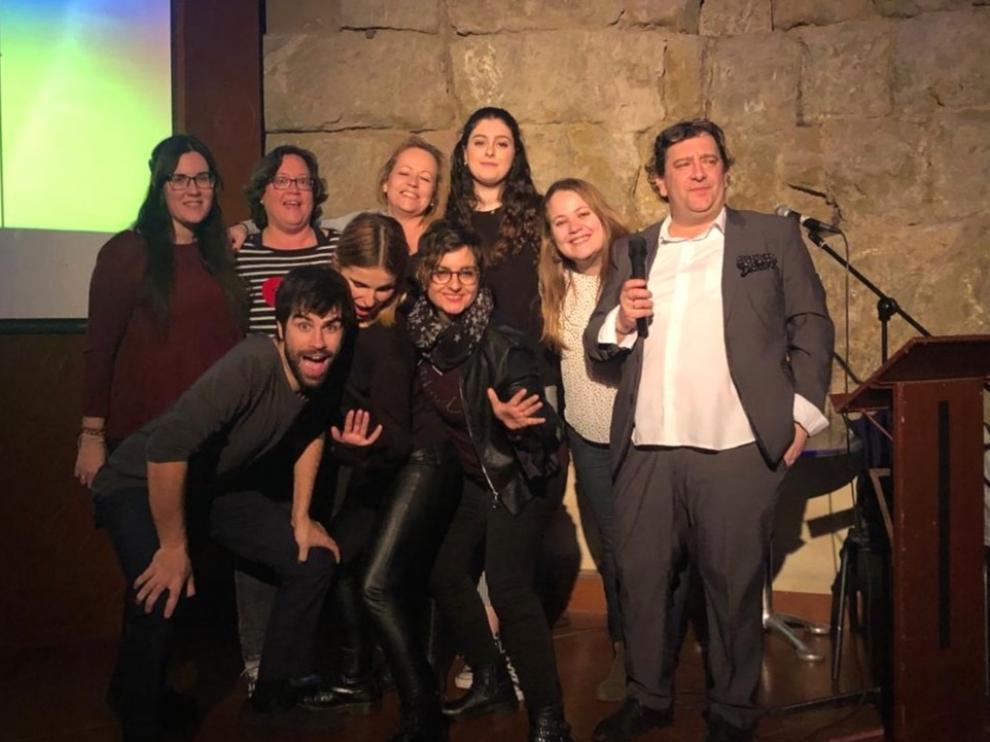 Bendita Ruina celebra su concurso de karaoke