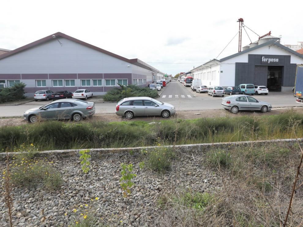 Los polígonos industriales aglutinan casi un tercio de los edificios de la ciudad de Huesca