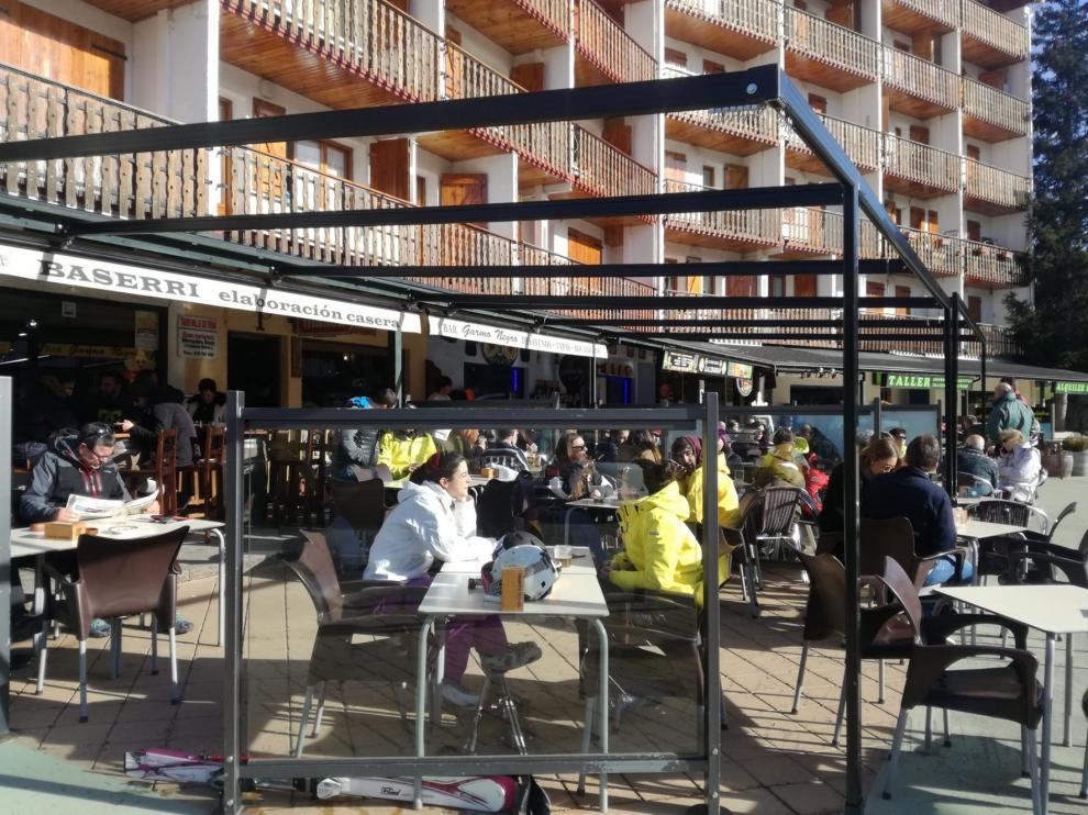 El Pirineo, con una alta ocupación en el último fin de semana del año