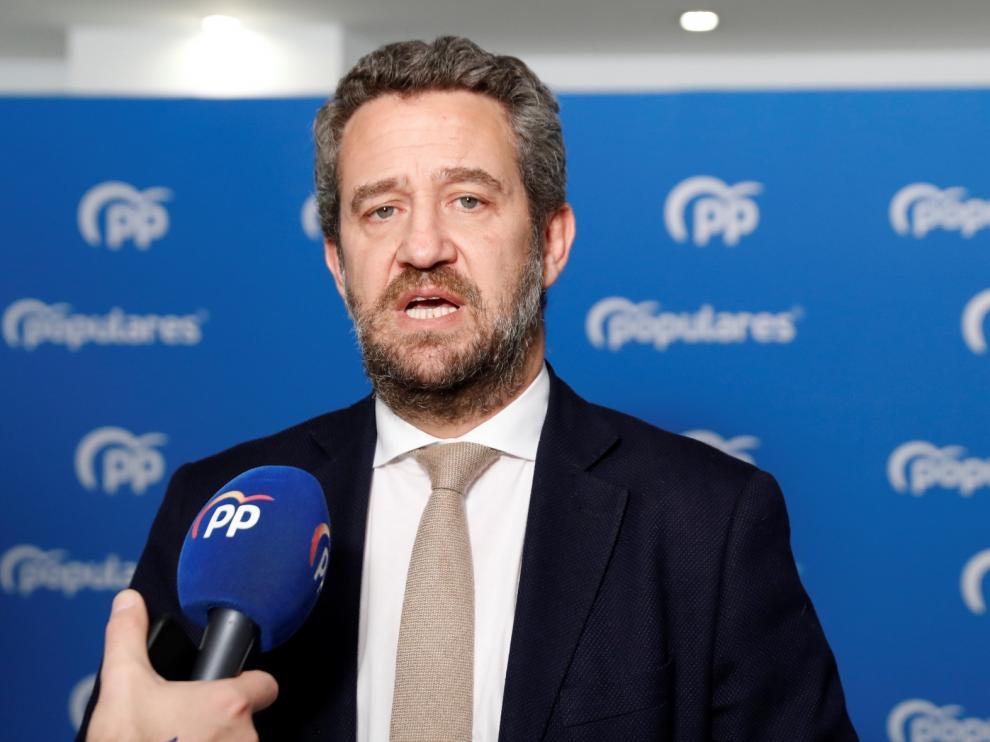 """El PP denuncia la """"opacidad"""" de Sánchez sobre la negociación"""