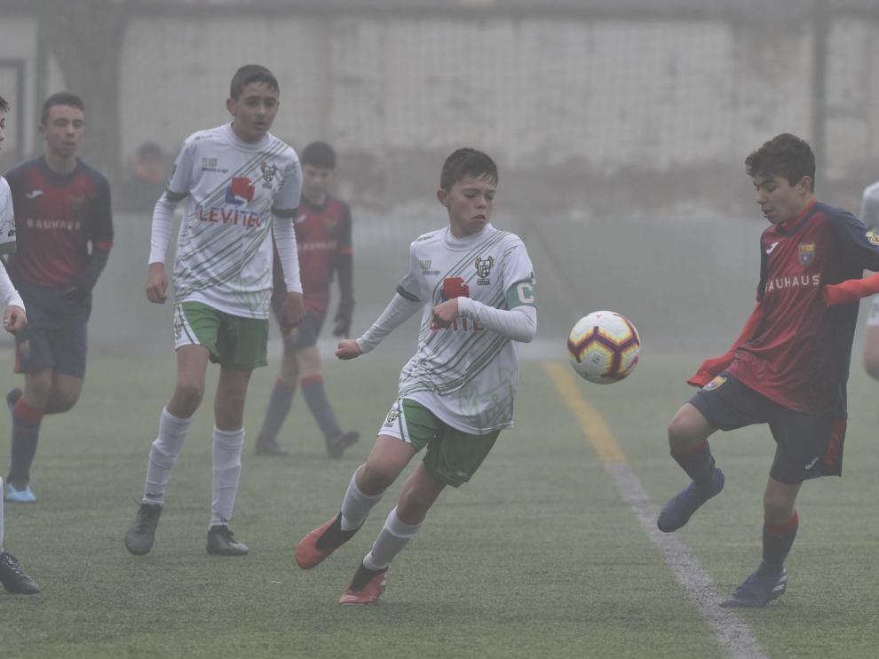 Valencia y Athletic luchan por el título de la Aragón Cup
