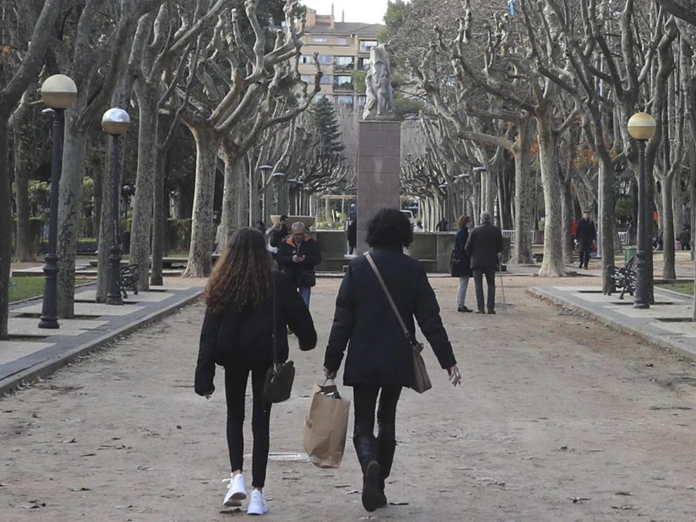 Abren los parques públicos de Huesca pero las zonas de juego estarán precintadas