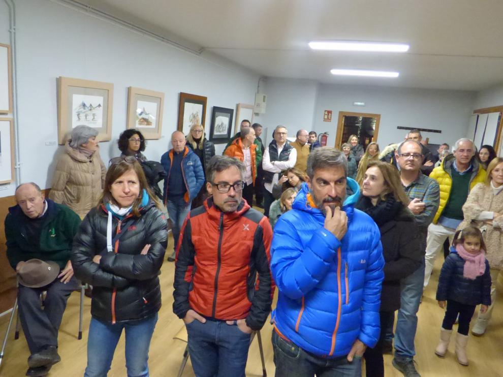 Tramacastilla estrena sala de exposiciones con obras de Montoro