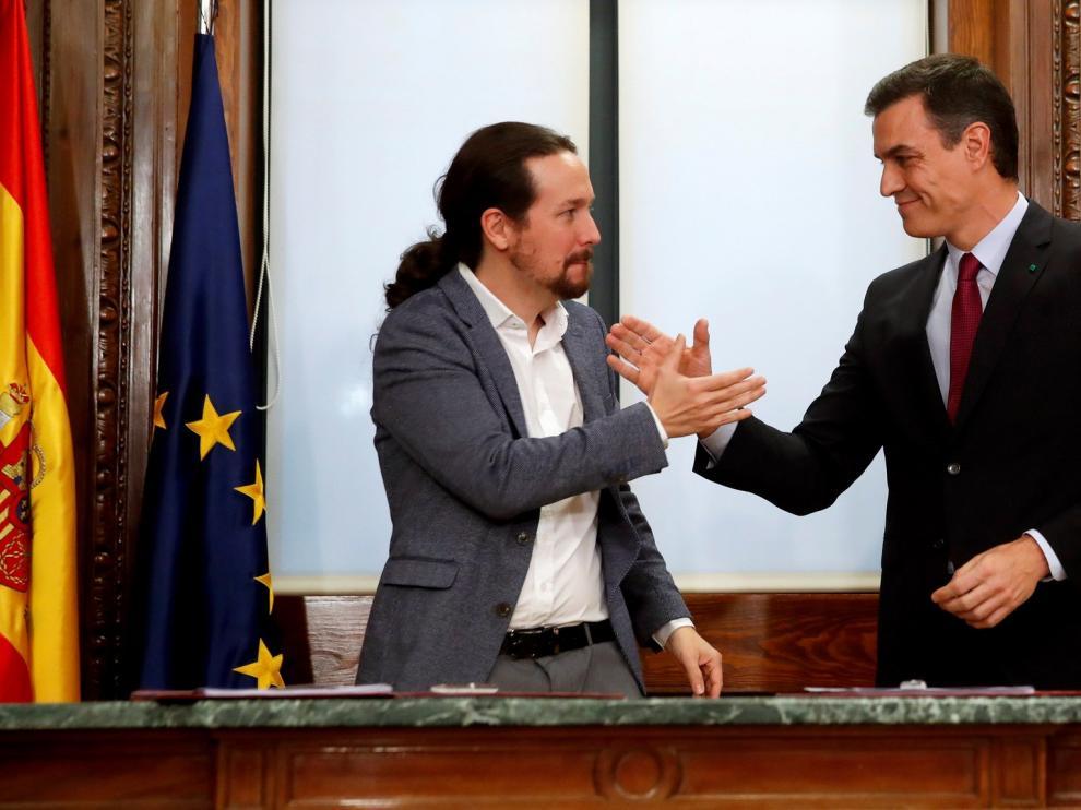 PSOE y Podemos acuerdan la derogación de la reforma laboral del PP