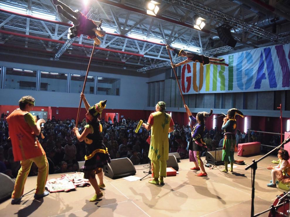 Los Titiriteros de Binéfar despiden el año a lo grande en Huesca