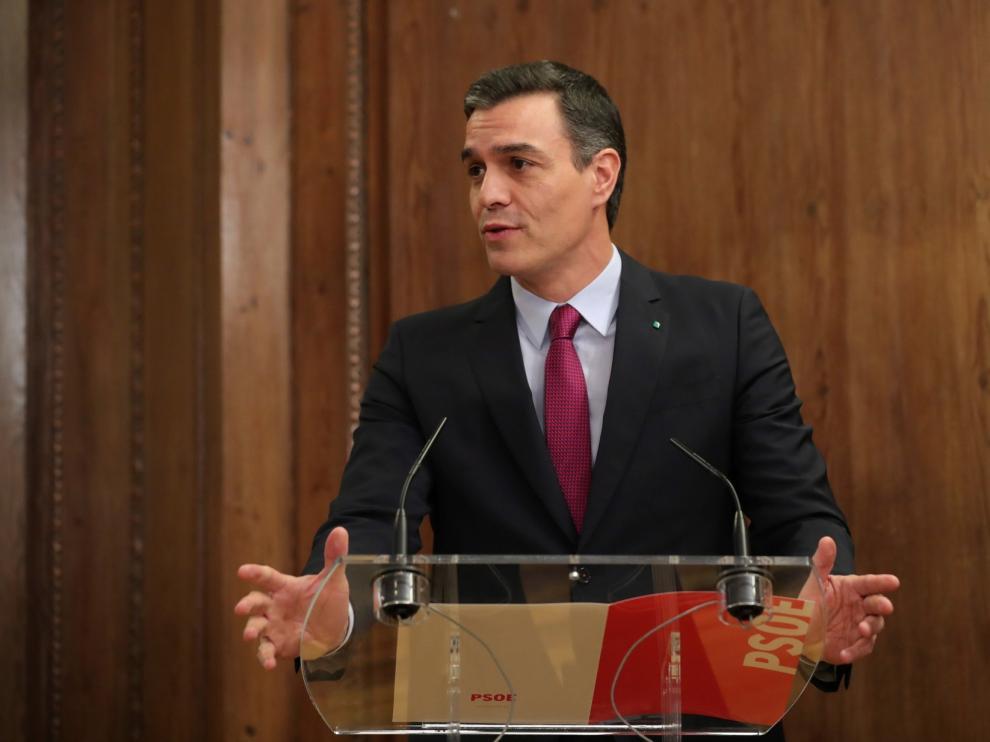 El debate de investidura de Pedro Sánchez se iniciará este sábado