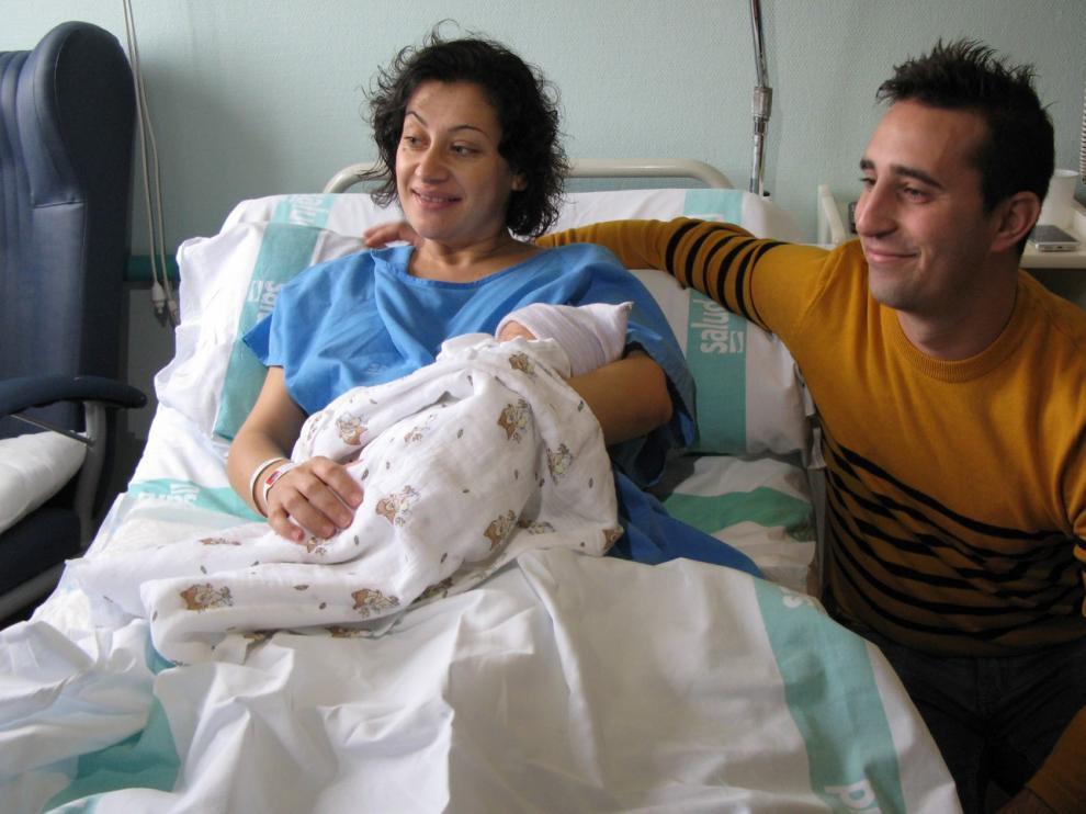 Una niña nacida en Zaragoza, primer bebé aragonés de 2020